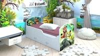 Кровать CLASSIC «ЛЕО И ТИГ» с ящиками
