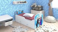 Кровать CLASSIC «ХОЛОДНОЕ СЕРДЦЕ» с ящиками