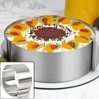 Регулируемая форма для торта круглая