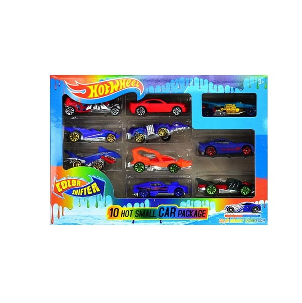 "Набор коллекционных машинок ""Hot Wheels Color Shifter"" Хамелеон, 10 шт"