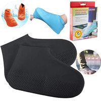 Ультра-эластичные силиконовые бахилы от дождя Waterproof silicone shoe cover