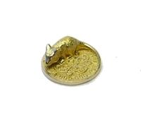 Кошельковая мышь на монете