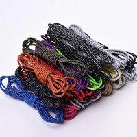Шнурки для обуви светоотражающие цветные