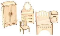 """Мебель для кукол """"Спальня"""""""