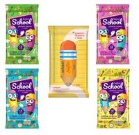Влажные салфетки Антибактериальные для Школьников Salfeti School  №15
