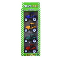 Игрушечный набор тракторов Farmer Truck, 4 шт