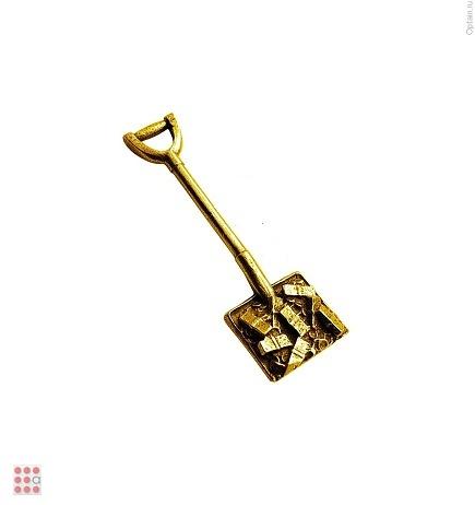 Лопата для денег сувенир