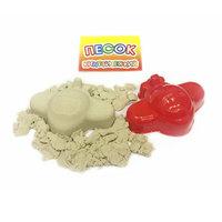 Песок кинетический 300 гр + 1 формочка (транспорт)