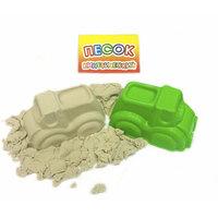 Песок кинетический 400 гр + 1 формочка (транспорт)