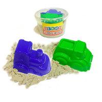 Песок кинетический +2 формочки (транспорт) 1400гр