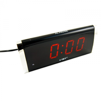 Часы настольные VST 730-1 красные цифры