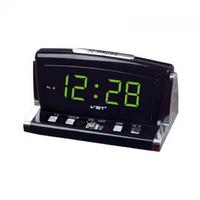 Часы настольные VST 718-2 ярко зеленые цифры