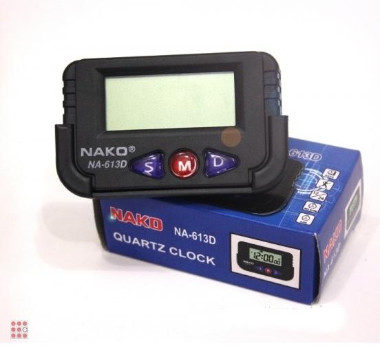 Электронные автомобильные часы NAKO NA-613D
