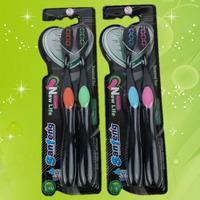 Зубные бамбуковые щетки Sanfeng, 2 шт