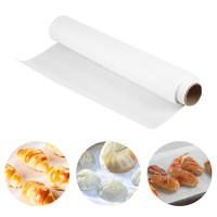 Бумага для выпечки силиконизированная белая 280мм/5метров