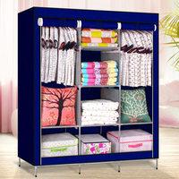 Мобильный тканевый шкаф Storage Wardrobe (130х45х170 см) 28130