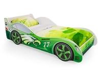Кровать машинка «ЗЕЛЕНАЯ»