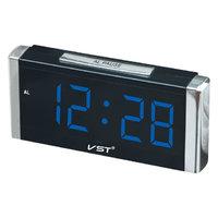 Часы настольные VST 731-5 синие цифры