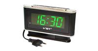 Часы настольные VST 721-4 зелёные цифры