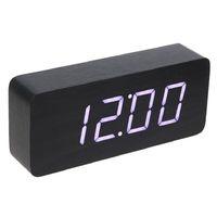 Электронные часы в деревянном корпусе VST-863-6