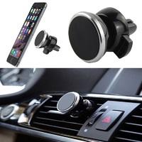 Автомобильный магнитный держатель для телефона в дефлектор Х19