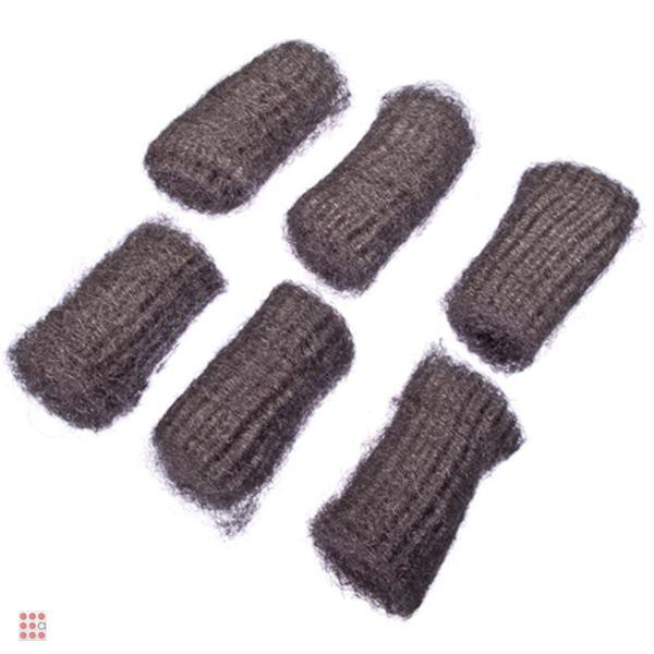 Набор губок металлических деликатных 6 шт
