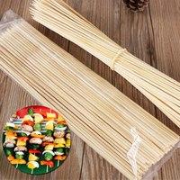 Шпажки-шампуры бамбуковые 250 мм, 100 шт