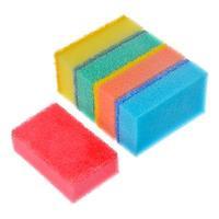 Набор губок для мытья посуды 5шт, 8х5х2,5см