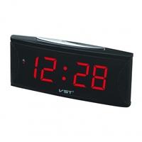 Часы настольные VST 719-1 красные цифры