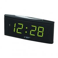 Часы настольные VST 719-2 ярко зеленые цифры