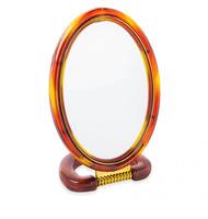 """Зеркало настольное овальное двухстороннее 6"""""""
