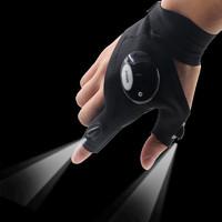 Перчатки Glove Light со встроенным фонариком