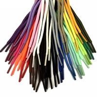 Шнурки для обуви плетеные цветные, круглые 115см, 2 шт
