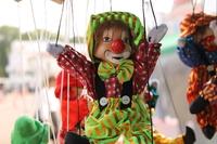 Кукла-марионетка Клоун