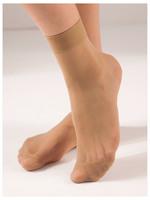 Капроновые носки бежевые