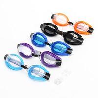 Очки детские для плавания+затычки для ушей и прищепка для носа