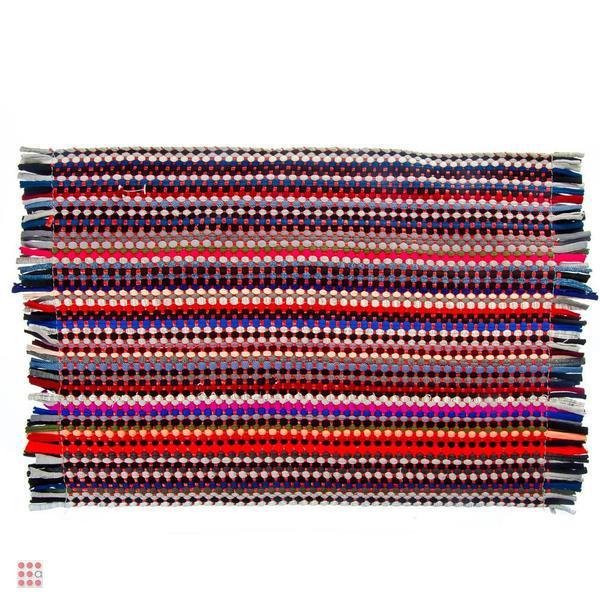 Коврик плетеный 35х55см