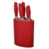 """Набор кухонных ножей на подставке """"Селесте"""", 6 пр."""