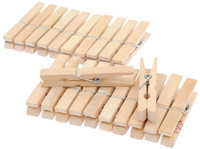 Прищепки бамбуковые 20 шт.