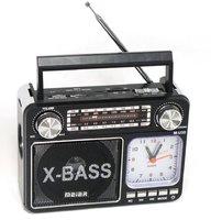 Радиоприемник c MP3, фонариком и часами Meier M-U35