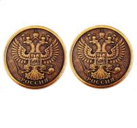 Монета ОРЕЛ d30мм