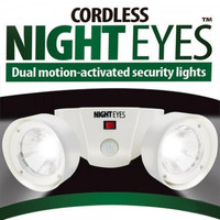 Беспроводной фонарь с датчиком движения Cordless Night Eyes