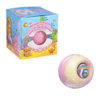 Шар бурлящий с игрушкой для девочек и мальчиков