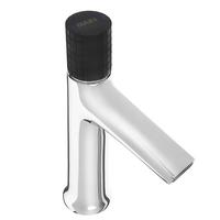 Смеситель для раковины RAIN Графит, однорычажный, ручка джойстик, хром