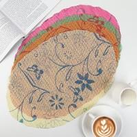 Прозрачная косметичка-сумка на молнии, большая