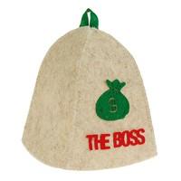 "Шапка банная с аппликацией ""The Boss"""