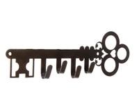 """Ключница металлическая """"Ключ"""", бронзовая"""
