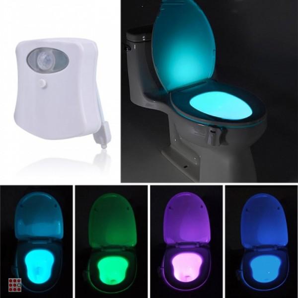 Подсветка для унитаза с датчиком движения Light Bowl