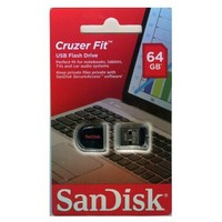 USB Flash накопитель SanDisk Cruzer Fit 64Gb