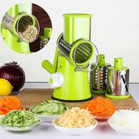 Мультислайсер для овощей и фруктов с 3 насадками Tabletop Drum Grater